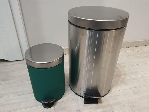 Kosze na śmieci/odpady z pedałem do otwierania IKEA Ekoln i Strapats