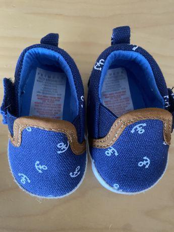 Sapato bebe menino navy novo