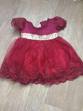 Платье на два годика
