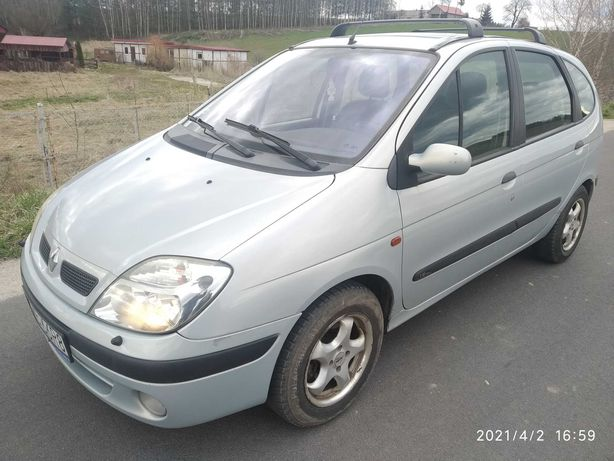 Renault Scenic, 1,6 benzyna