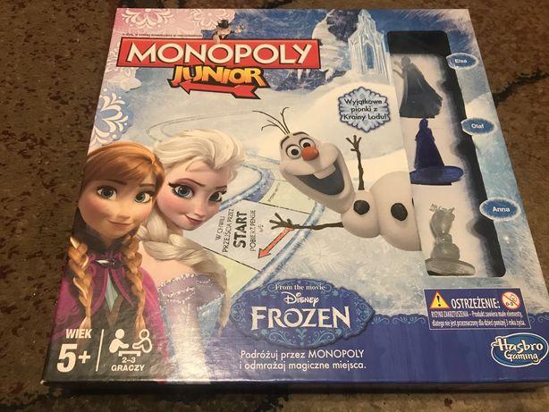 Gra Kraina Lodu Monopoly