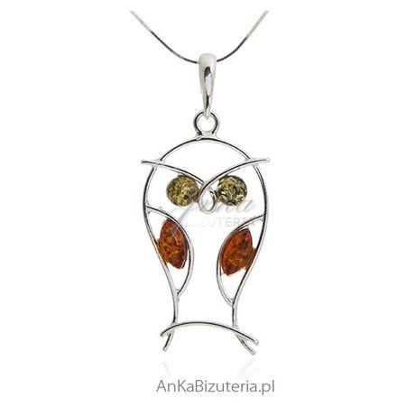ankabizuteria.pl swarowski naszyjniki z kryształu Wisiorek srebrny z b