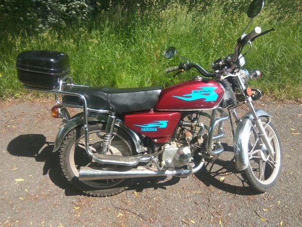 Продам мотоцикл Альфа.