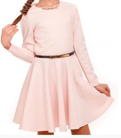 Новое супер нарядное школьное платье 128-134