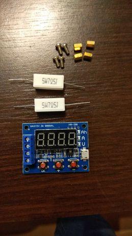 Tester miernik pojemności baterii akumulatora