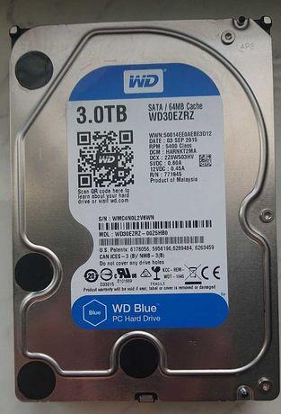 "Жесткий диск HDD 3TB SATA3 WD Blue 5400rpm 3.5"""