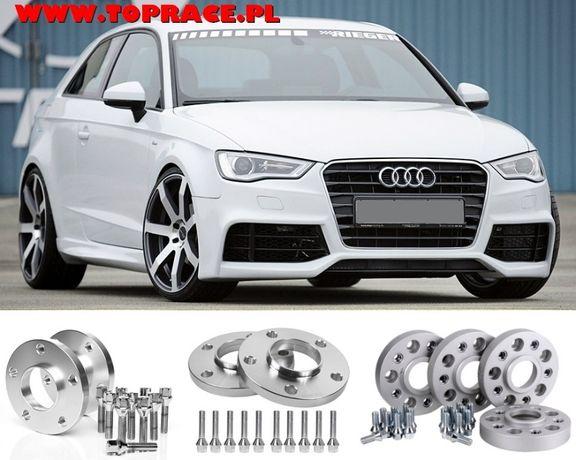 DYSTANSE ADAPTERY DO kół 5x100 5x112 VW Audi A4 A6 A8 A5 - NOWE!