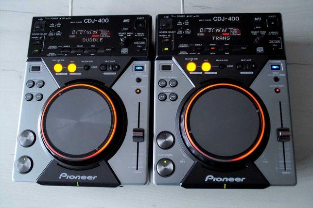 2 x Pioneer CDJ 400 Gwarancja Skup Zamiana DJM 350/400/600/700/800