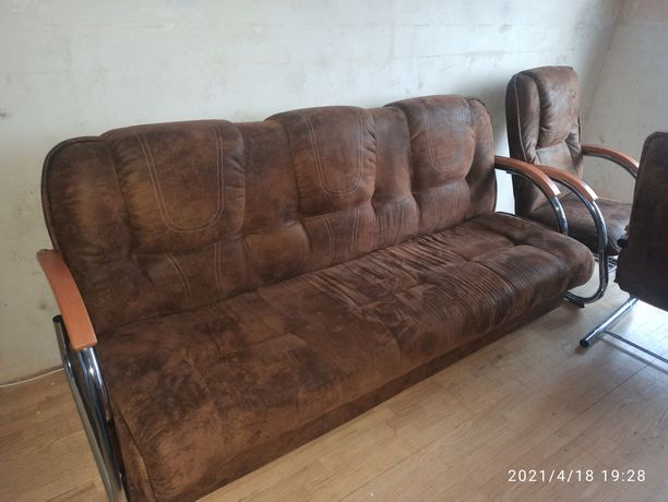 Wersalka i dwa fotele