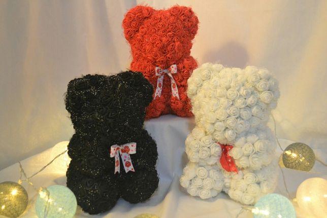 Мишка из роз, медведики Тэдди в подарок и на торжества.
