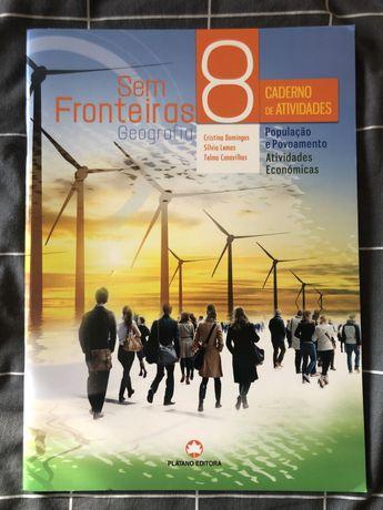 Caderno livro de actividades Geografia 8.º ano