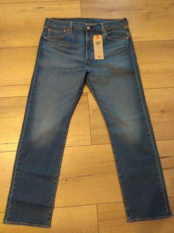 Spodnie Levi's 501 r 38/32 NOWE