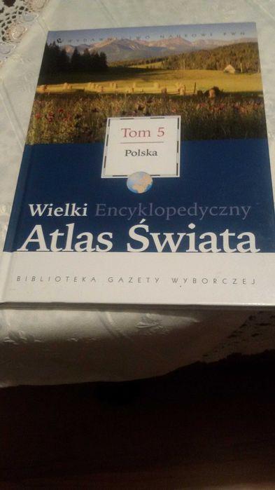 Atlas- Polska - wydawnictwo PWN Krzyż Wielkopolski - image 1