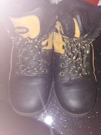 Buty zimowe dla chłopca rozm.35