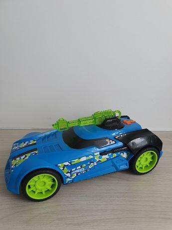 Duży samochód Hot Wheels dźwięk i światło