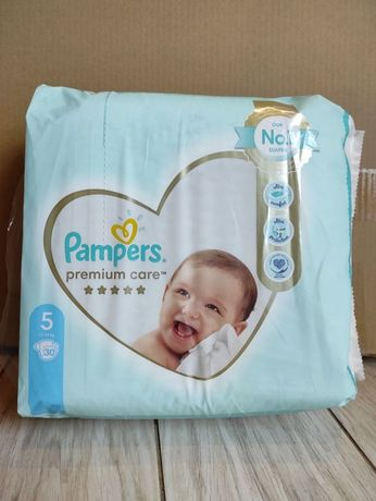 Підгузники Pampers premium care 5