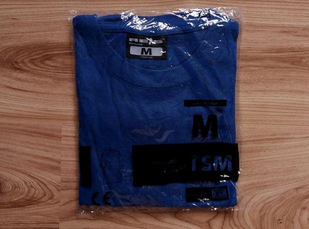 Koszulka Męska T-shirt Granatowy Nowy