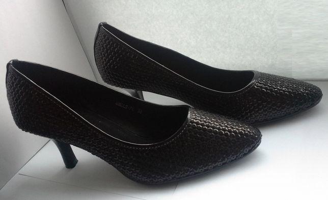 Sapatos Pretos de Senhora Clowse - Novos