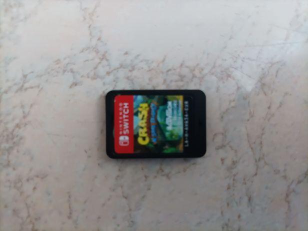 Sprzedam crash bandicoot n sane trilogy na Nintendo switch