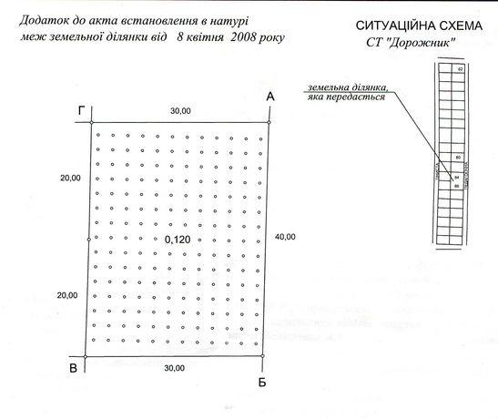Продам 2 смежных участка в Калиновке(ст Дорожник)
