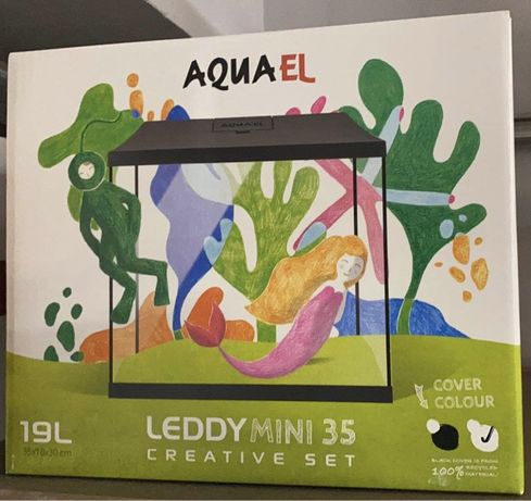 Zestaw akwariowy Aquael Leddy Mini 35 (19L)