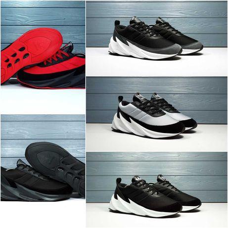 РАСПРОДАЖА! 3 цвета! Мужские кроссовки Adidas Sharks (42,43,44) SALE