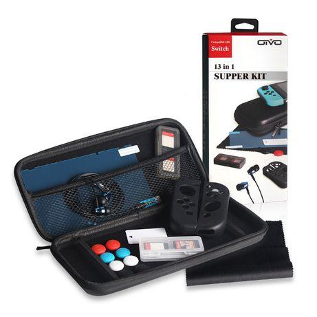 13 в 1 Набор для Nintendo Switch Защитный Чехол Кейс Case Нинтендо