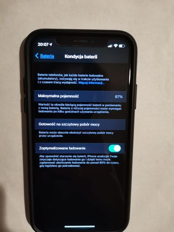Iphone X 64 GB użwany