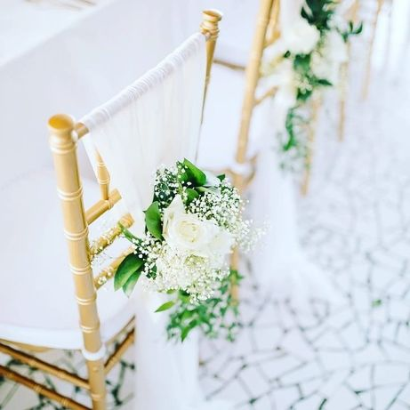 Krzesła chiavari na ślub, konferencje - wynajem