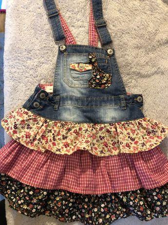 Sukienka , rozmiar 128