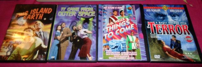 4 dvd SCI-FI Horror 60 Classicos Roger Corman It Came From outer Space