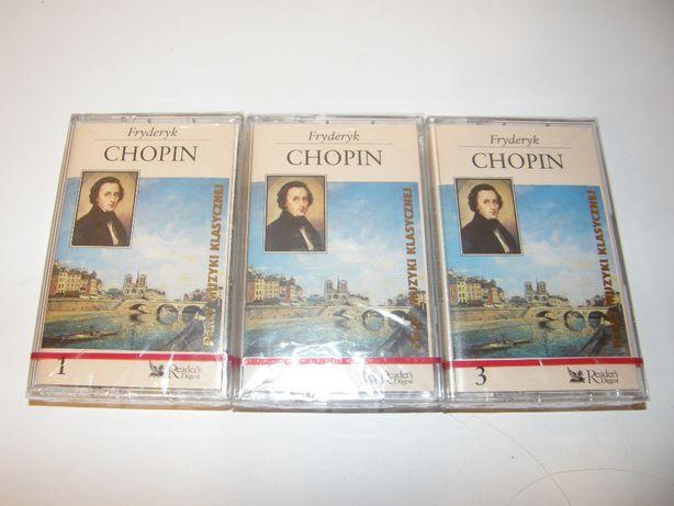 CHOPIN / 3 kasety / Perły Muzyki Klasycznej