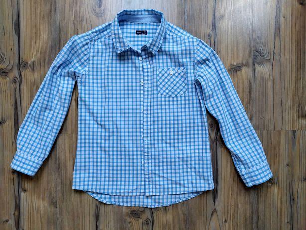 Koszula Endo rozmiar 134 podwijane rękawy jak nowa
