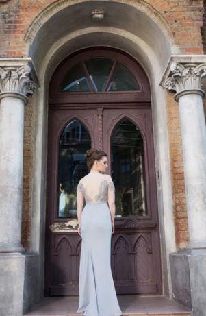 Вечернее платье в пол длинное для фотосессии