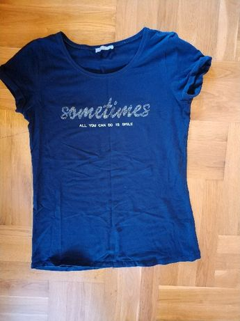 T-shirt koszulka z krótkim rękawem ORSAY