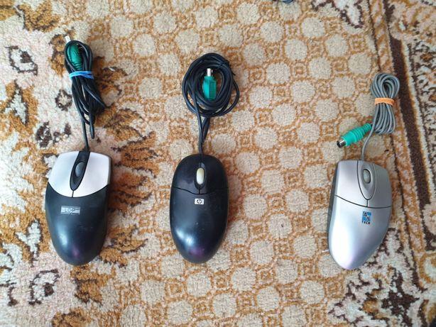 Mysz komputerowa optyczna kabel 3szt