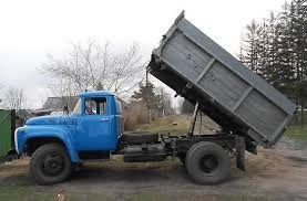 Вывоз мусора Доставка Зил-Самосвал колхозник Доставка:щебень, песок