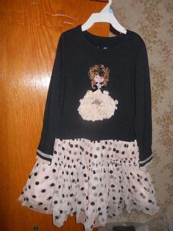 Платье из Америки на 3-4 года р 4Т Nannette Carters Gymboree Childrens