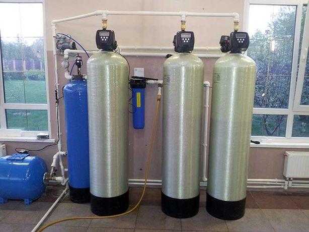 Фильтры для воды. Комплексная очистка воды. Колонна, клапаны, засыпка.