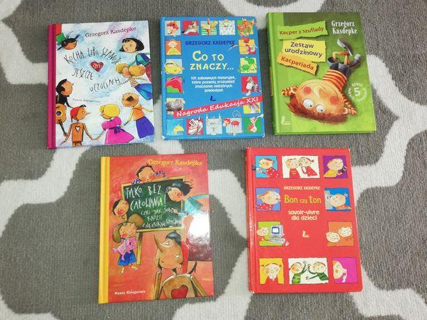 G. Kasdepke - 5 książek po 15zł