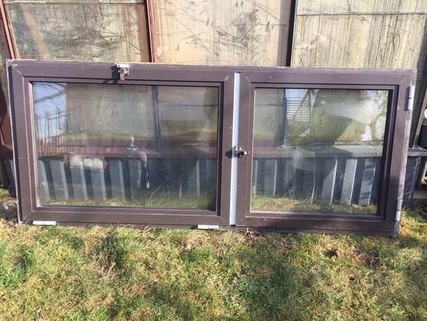 Okno aluminiowe z demontażu