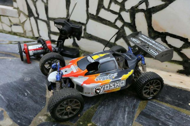Kyosho Inferno MP-7.5 Sports 4 Motor os max rg .21