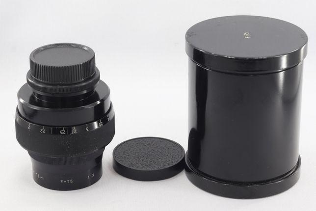 Киношный объектив ОКС6-75-1 75/2 переделан под м39 для ФФ и СФ