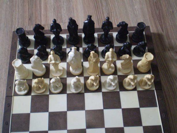 Шахматы сувенирные Рыцари производство СССР