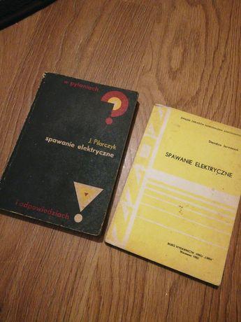 Dwie książki spawanie elektryczne