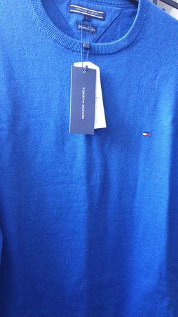 Tommy Hilfiger nowy oryginalny sweter męski rozmiar L za pół ceny