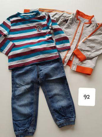 Ubrania chłopięce 92