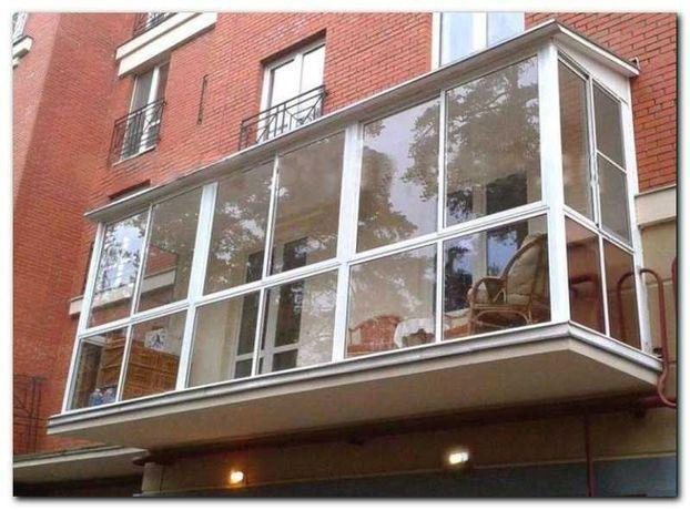 Французский балкон под ключ, Утепление, Обшивка, Сварка, Вынос