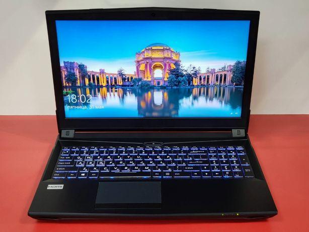 Игровой ноутбук Clevo DreamMachine —i7-8700, 16 ОЗУ, GTX 1060, SSD 5