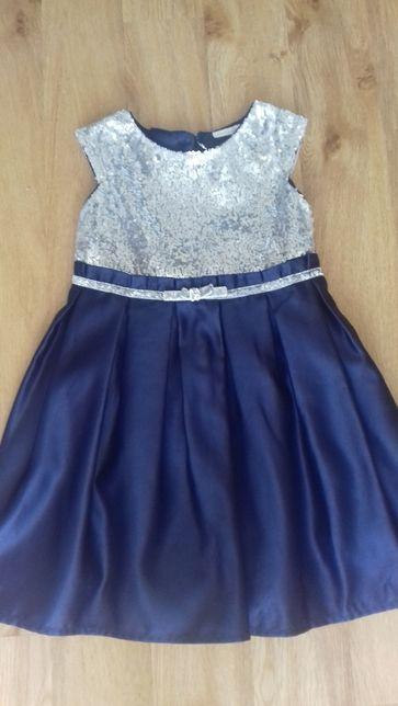 Elegancka sukieneczka rozmiar 3/4 lata